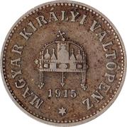 10 Fillér - I. Ferenc József (Franz Joseph I - 1848/1867-1916) -  obverse