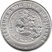 3000 Forint (Hungarian Silver Coinage Millennium) -  obverse