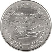 5000 Forint (Árpád Tóth) -  obverse
