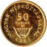50 Forint (Ferenc Liszt) -  obverse
