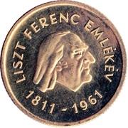 50 Forint (Ferenc Liszt) -  reverse