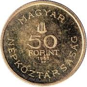 50 Forint (Béla Bartók) -  obverse