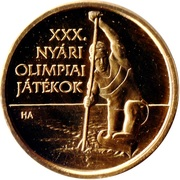 5000 Forint (XXX Summer Olympic Games London 2012) -  obverse