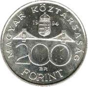 200 Forint (Deák Ferenc) – obverse
