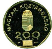 200 Forint (End of Millennium) – obverse