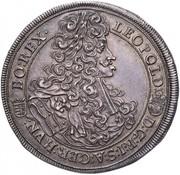 1 Tallér - I. Lipót (1657-1705) -  obverse