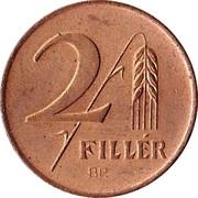 2 Fillér – reverse
