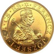 9 Ducats - Franz Joseph I – obverse