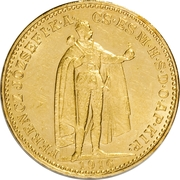 20 Korona - I. Ferenc József (Franz Joseph I - 1848/1867-1916) – obverse