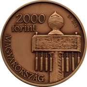 2000 Forint ( National Memorial of Mohács) -  obverse