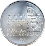 5000 Forint (Dezső Kosztolányi) -  obverse