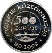 500 Forint (Canonization of King Ladislaus I) – obverse