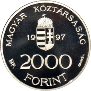 2000 Forint (Integration into the European Union) -  obverse