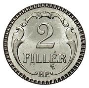 2 Fillér - Miklós Horthy – reverse