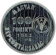 100 Forint (FAO) -  obverse