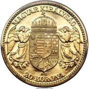 20 Korona - IV. Károly (Karl IV - 1916-1918) – reverse