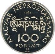 100 Forint (Sándor Kőrösi Csoma) -  obverse