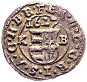 Denár - II. Ferdinánd 1619-1637 -  obverse