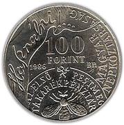 100 Forint (András Fáy) -  obverse