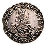 Tallér - II. Mátyás (1608-1619) -  obverse