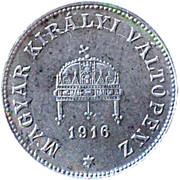20 Fillér - Karl IV -  obverse