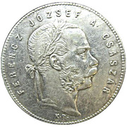1 Forint - Ferenc József -  obverse