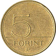 5 Forint -  reverse