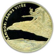 200 Forint (János vitéz) – reverse