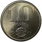 10 Forint -  reverse