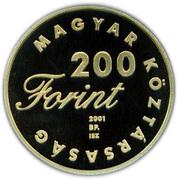 200 Forint (János vitéz) – obverse