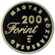 200 Forint (Toldi) – obverse