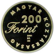 200 Forint (A Pál utcai fiúk) – obverse