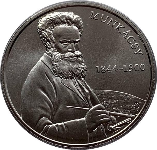 Hungary 2000 forint 2019 Institute of Geology Ammonite Fossil Tetragonal BU