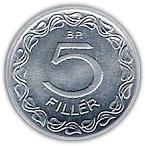 5 Fillér – reverse