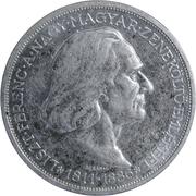 2 Pengő - Miklós Horthy (Death of Liszt) – reverse