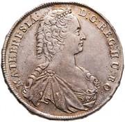 ½ Tallér - Mária Terézia -  obverse
