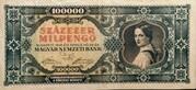 100 000 Milpengő – obverse