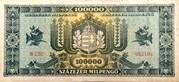100 000 Milpengő – reverse