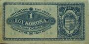 1 Korona -  reverse
