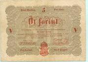 5 Forint (Kossuth bankó) – obverse