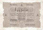 1 Forint (Kossuth bankó) – obverse