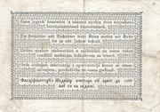 1 Forint (Kossuth bankó) – reverse
