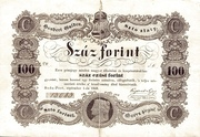 100 Forint (Kossuth bankó) – obverse