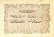 100 Forint (Kossuth bankó) – reverse