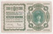 2000 Korona (Princess Zita) – obverse