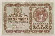 10 000 Korona (Princess Zita) – obverse