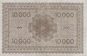 10 000 Korona (Princess Zita) – reverse