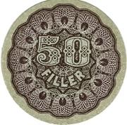 50 Fillér – obverse