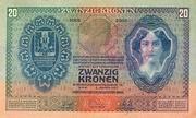 20 Korona -  reverse