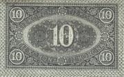 10 Korona – reverse